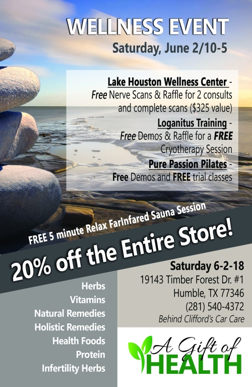Wellness Event June 2018 flyer 2 (2)